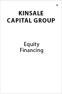 Equity Financing - Transaction Advisory