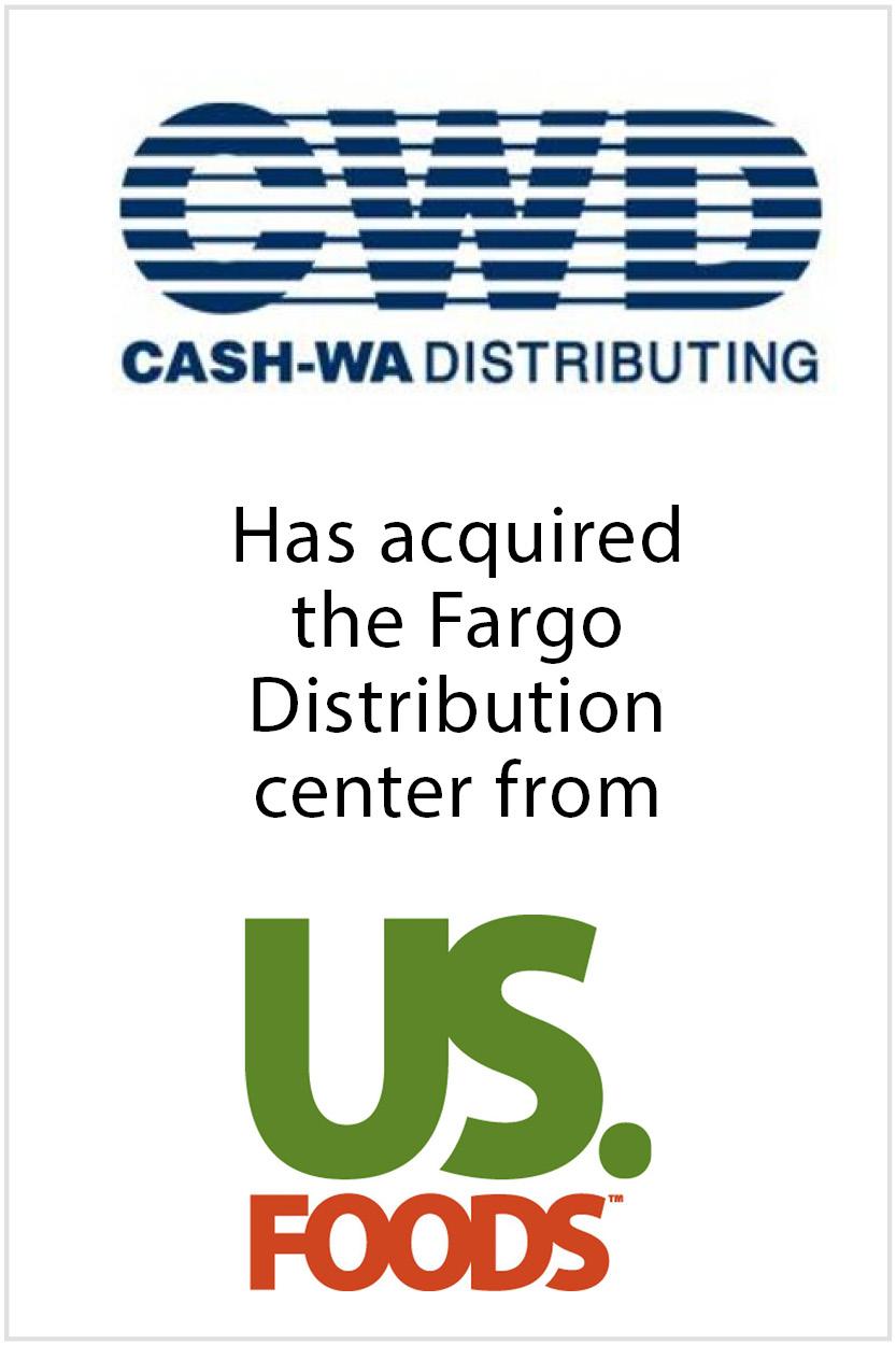 Cash-Wa acquires Fargo Distribution Center   Transaction Advisory Services