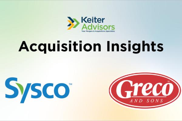 Sysco acquires Greco
